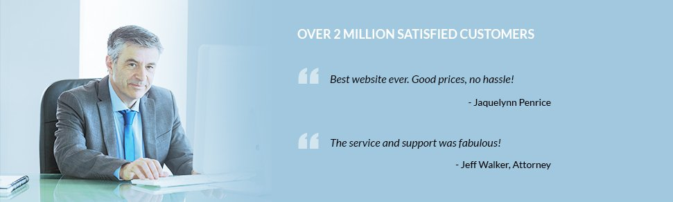 Over 2 Million Satisfied Customers