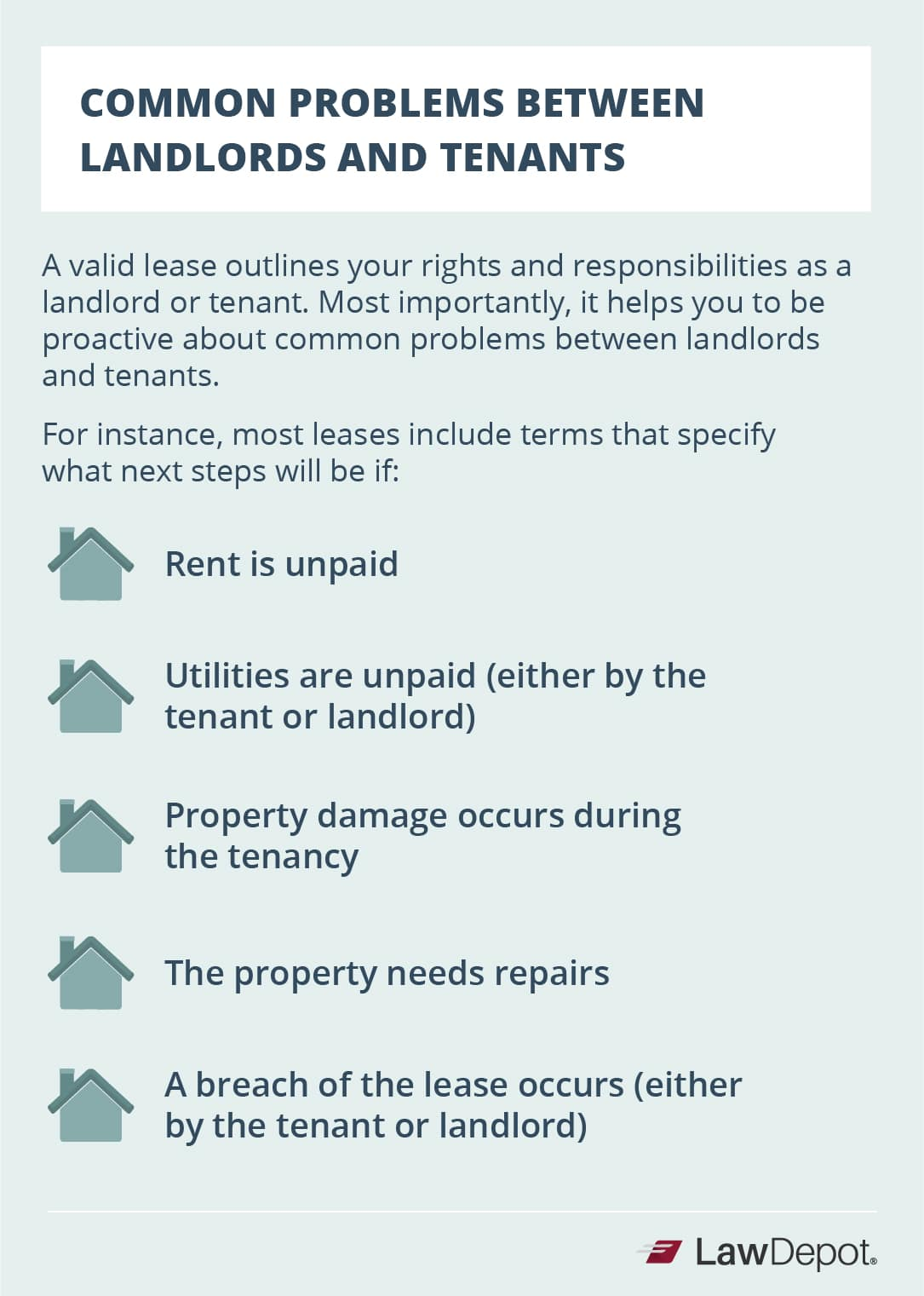 Common Problems Between Landlords and Tenants