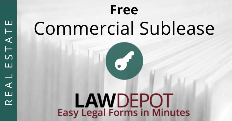 Sublease Agreement  Free Commercial Sublease Contract Us  Lawdepot