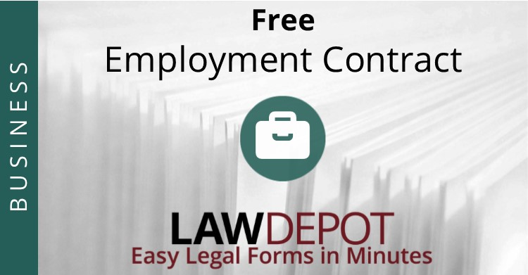 Employment Contract | Free Employee Agreement Form (Us) | Lawdepot