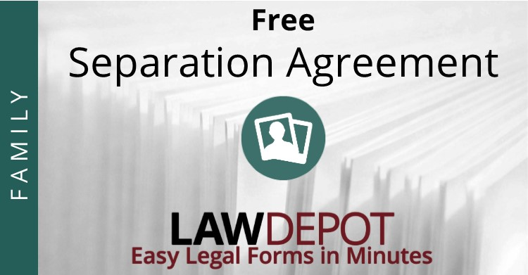 Separation Agreement Template – Free Legal Agreement Templates