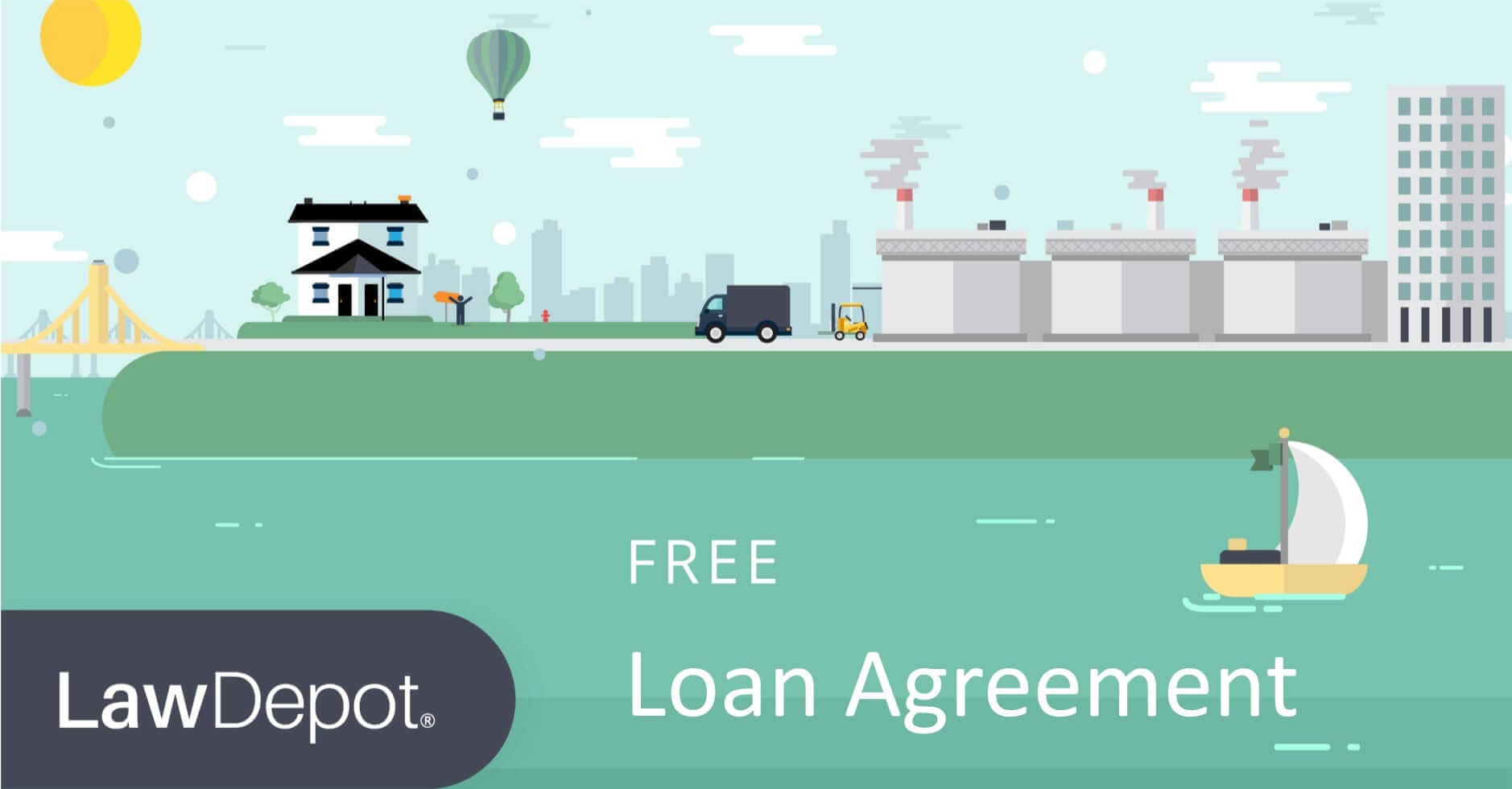 LawDepot  Interest Free Loan Agreement