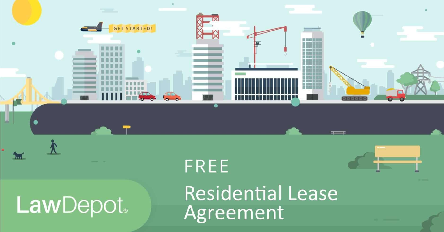 Residential Lease Agreement Free Rental Lease Form US – Free Residential Lease
